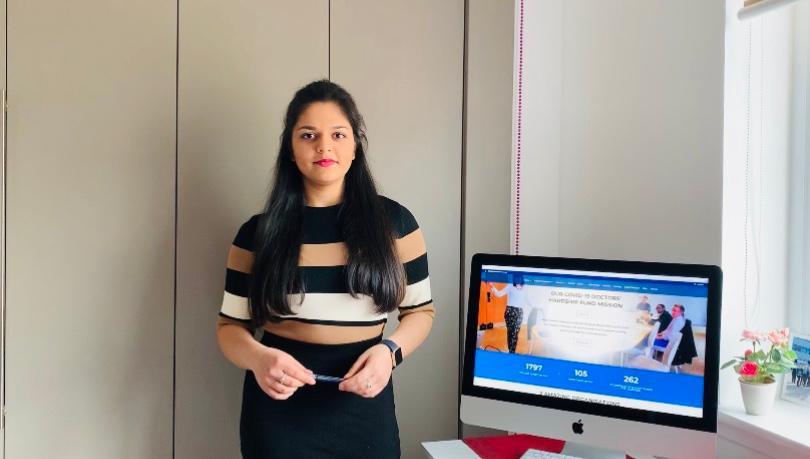 Virtual Medical Society Vice President Shreeja Tripathi