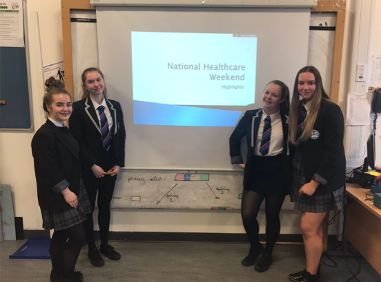 Erin McGee, S6, St Andrew's and St Bride's High School, Medic Mentor Review